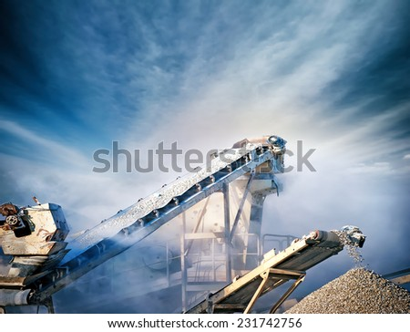 Construction industry background  - stock photo