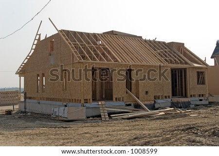 construction 06 oshawa - stock photo