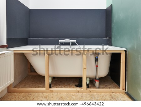 Construction: Remodeling a bathroom