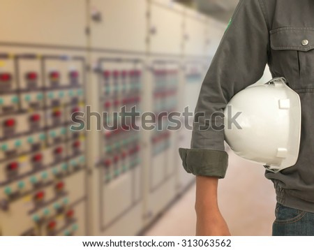 construction safety concept - stock photo
