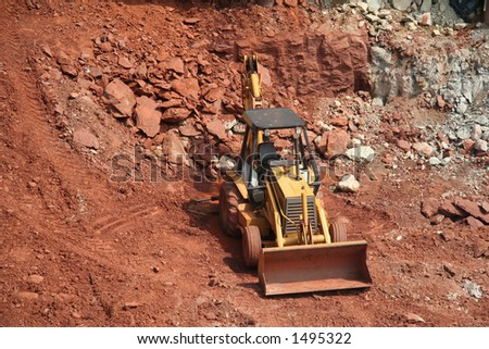 Construction Site - 2 - stock photo