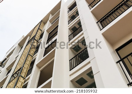 Construction Site building - stock photo