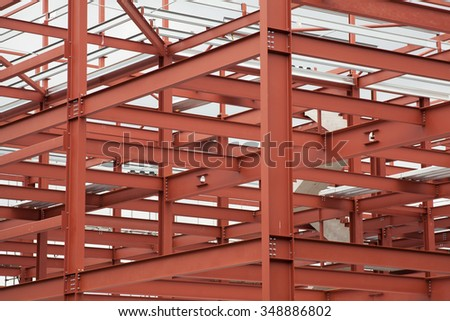 Construction structure - stock photo