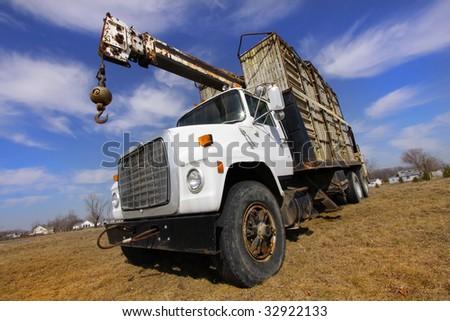 Construction Truck - stock photo