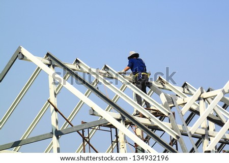 Steeplejack stock photos illustrations and vector art