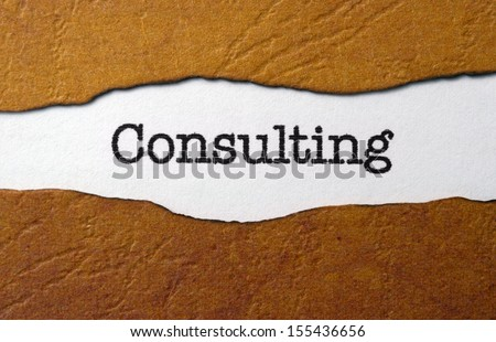 Consulting concept - stock photo