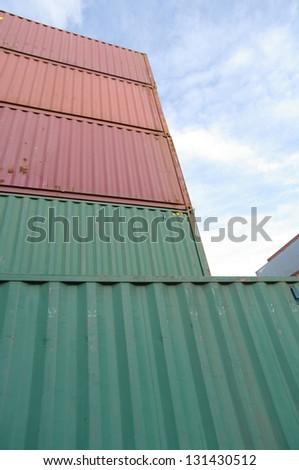 Container - stock photo