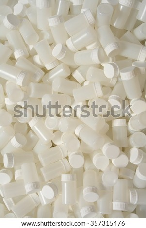 containers for medicines, background