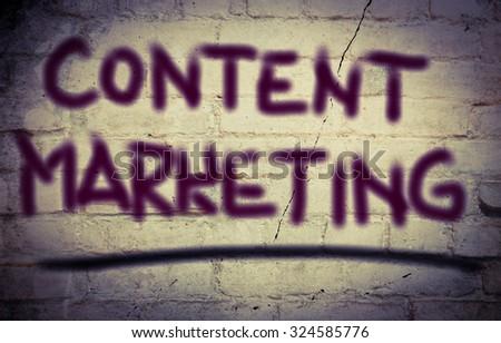 Content Marketing Concept - stock photo
