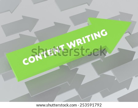 CONTENT WRITING - stock photo