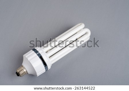 Continues light bulb for photography - stock photo