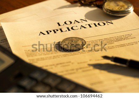 contracts and loans - stock photo