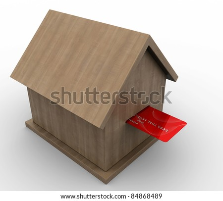 contribution in real estate - stock photo