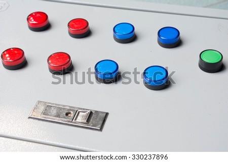 Control Cabinet - stock photo
