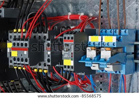 Control panel - stock photo