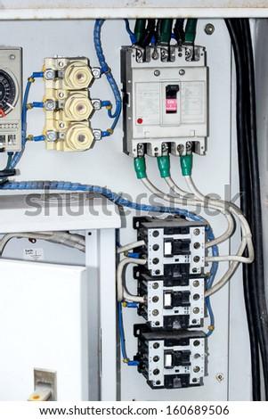 Control panel case - stock photo