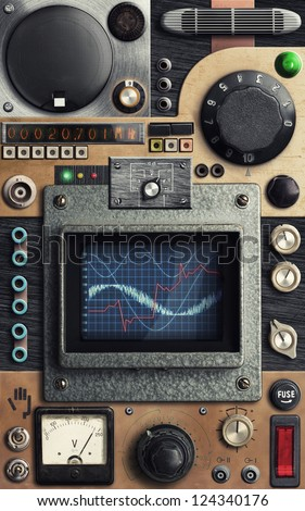 Vintage Switch Board Stock Images Royalty Free Images