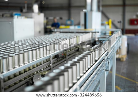 Conveyor cans