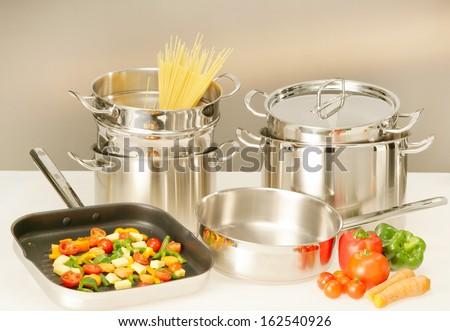 cook equipment  - stock photo