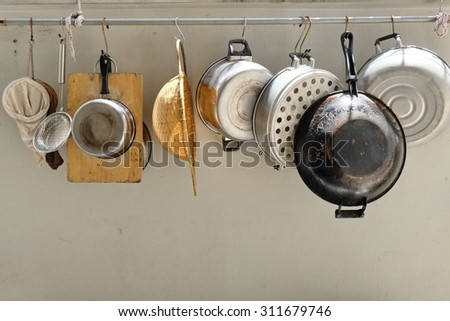 Cook tools - stock photo