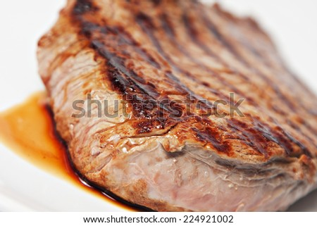 Cooked Beef - stock photo