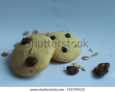 Cookie, Chocolate Chip Cookie, Chocolate, Chocolate Chip, on with background
