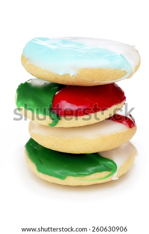 Cookie Stack - stock photo
