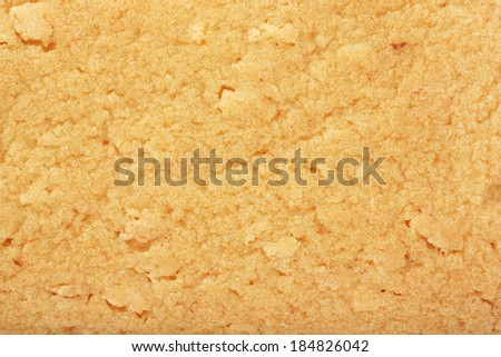Cookie texture/baked - stock photo