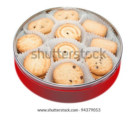 stock photo cookies in sheleznoy bank 94379053 Ginger And White Coffee Three Biscuits Stock Photo Image