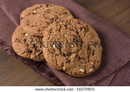 Cookies isolated - stock photo