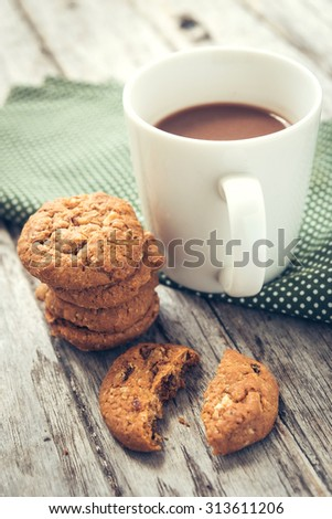 Cookies with Chocolate Malt