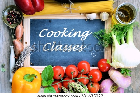 Cooking Classes - stock photo