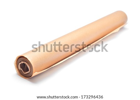 cooking paper roll