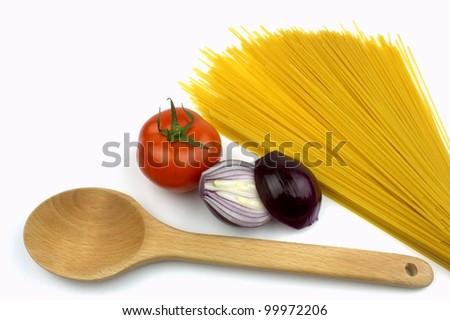 Cooking Pasta - stock photo