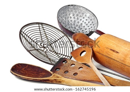 Cooking utensils - stock photo