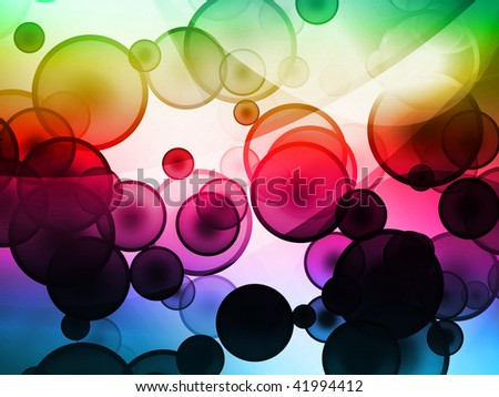 cool bubble background