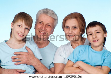Cool family had a good time with each other