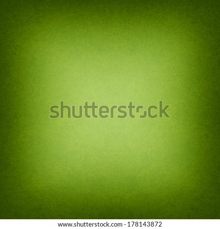 cool green background black border or frame, smooth bright center texture and dark vignette edge, abstract green paper for brochure or website backdrop, green  - stock photo