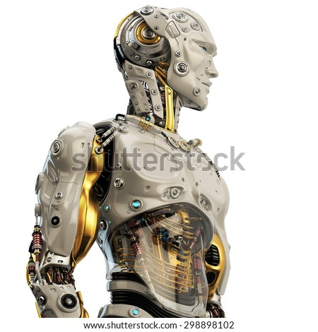 Cyborg Face Stock Photos, Images, & Pictures | Shutterstock