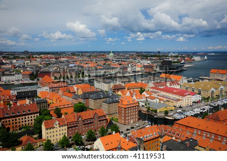 Copenhagen, Denmark - stock photo