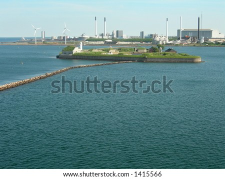 Copenhagen in Denmark - stock photo