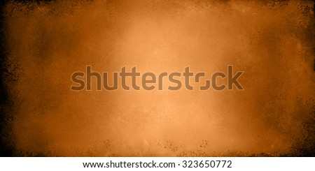copper background. Orange brown background banner with vintage texture. - stock photo