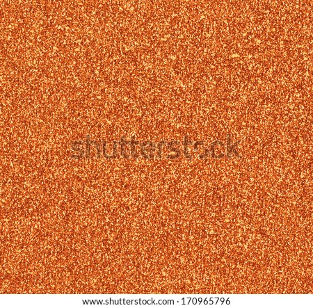 Copper Glitter Background - stock photo