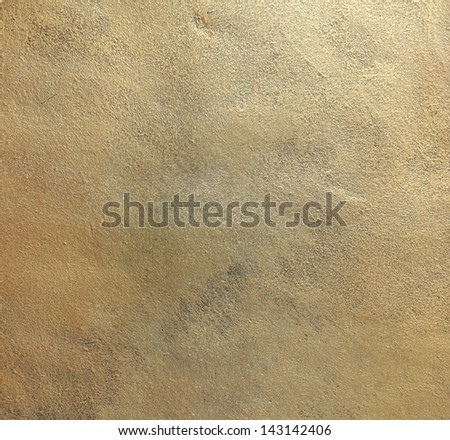 Copper old plate texture, old metal background - stock photo