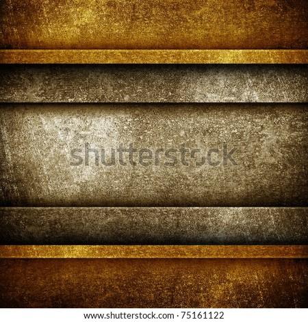 copper plate - stock photo