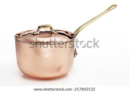 Copper Pot - stock photo