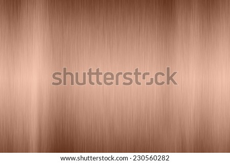 Copper texture surface - stock photo