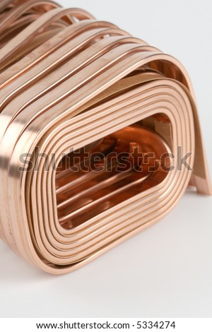 copper wire - stock photo
