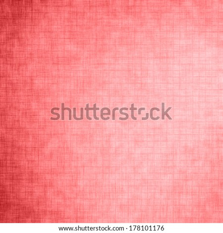 Coral background, linen texture for advertisement, wrapping paper, label, Valentine's Day, greeting card, scrapbook, wedding invitation etc.  - stock photo