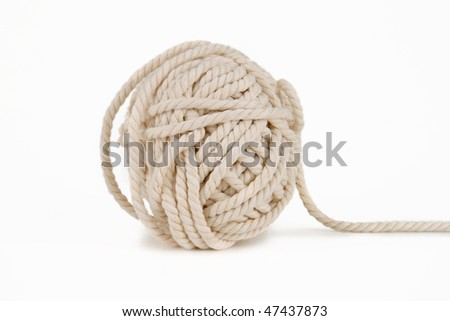 cord isolated on white background